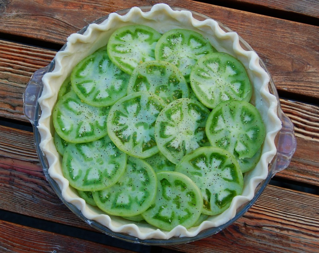 Green Tomato Pie  Green Tomato Pie
