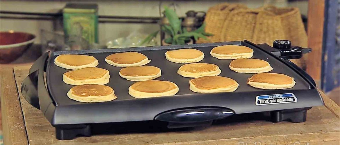 Griddle Temp For Pancakes  Best Electric Griddle Temp For Pancakes