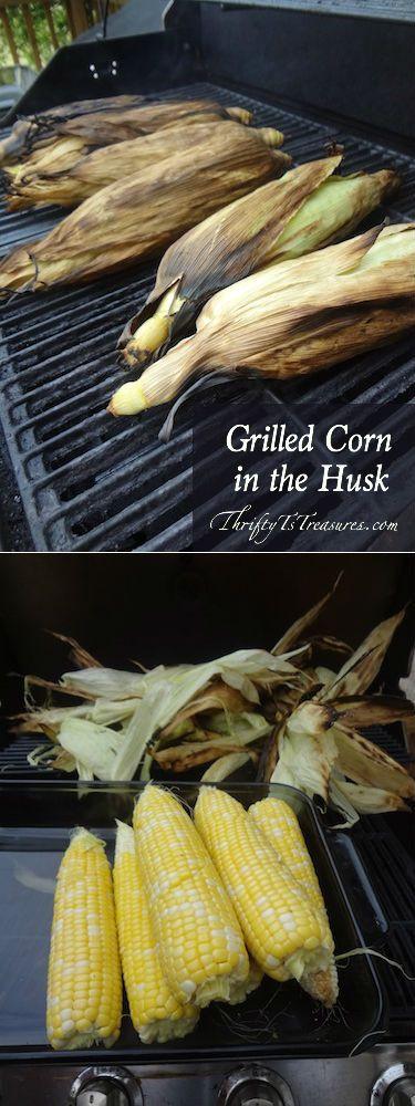 Grill Corn In Husk  Grilled Salmon In Corn Husks Recipe — Dishmaps