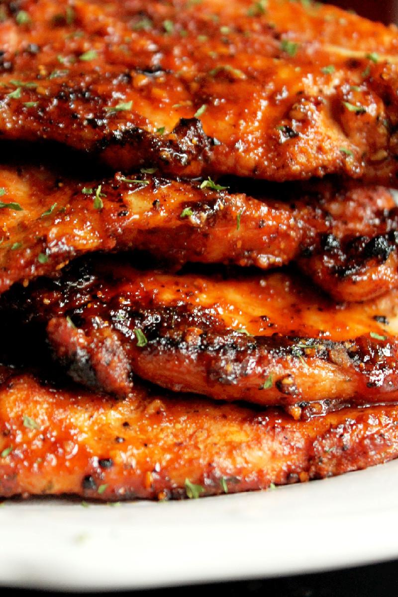 Grill Pork Chops  Grilled Pork Chops Creole Contessa
