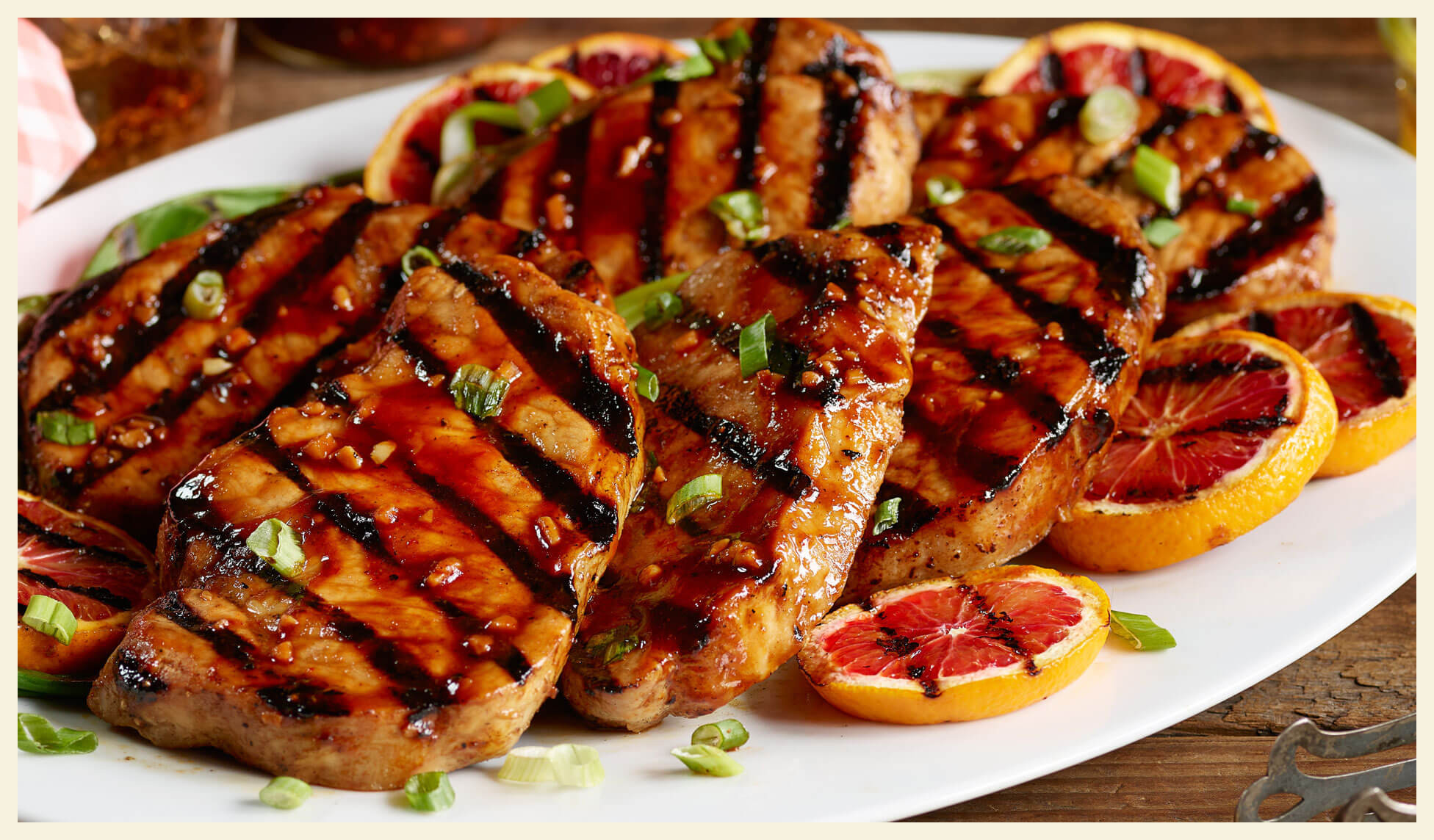 Grill Pork Chops Time  Smithfield Get Grilling America