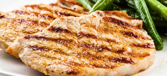 Grill Pork Chops Time  Easy Foreman Grill Pork Chops