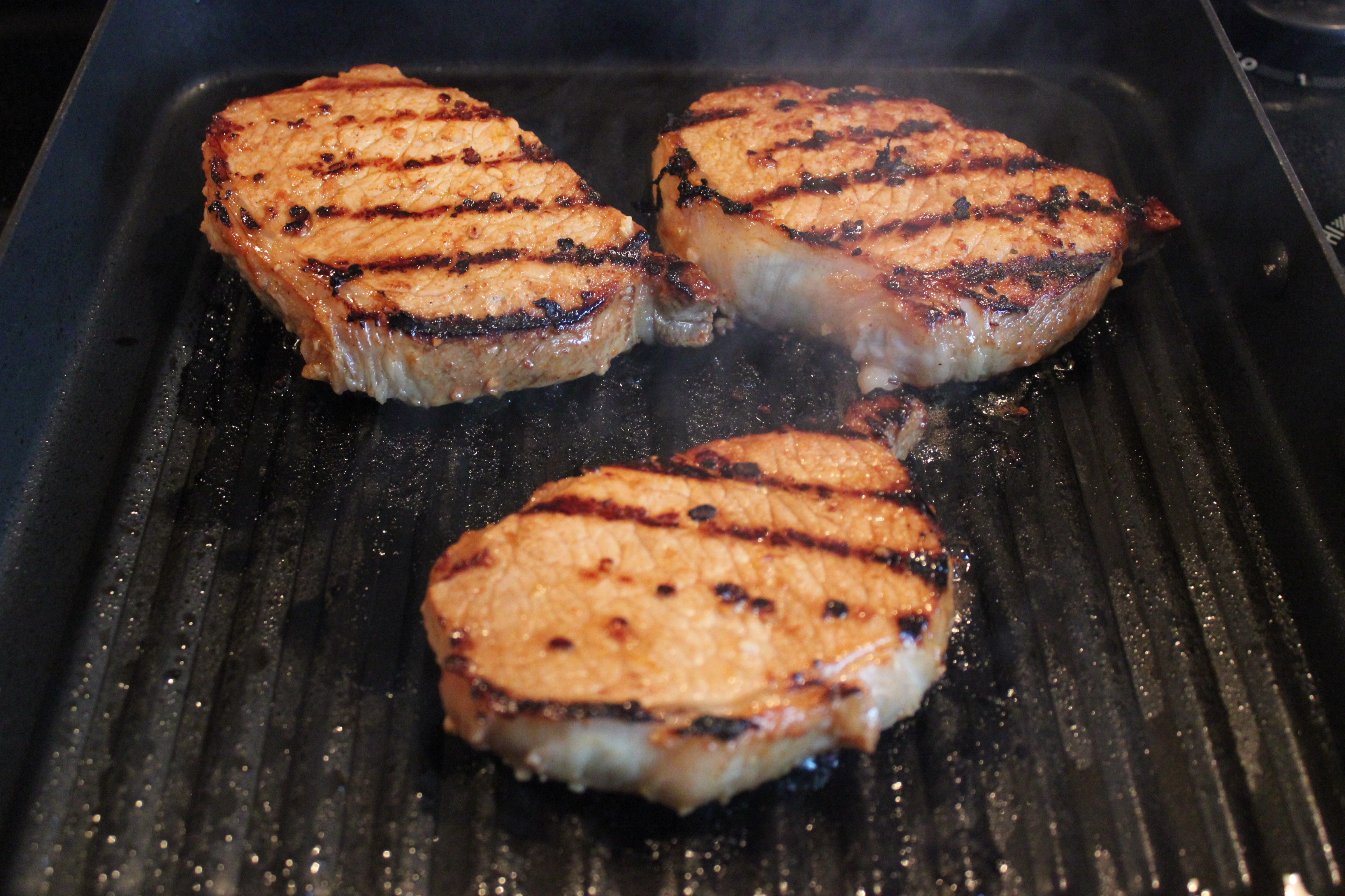 Grill Pork Chops Time  Asian Inspired Grilled Pork Chops with Chinese Style Bok
