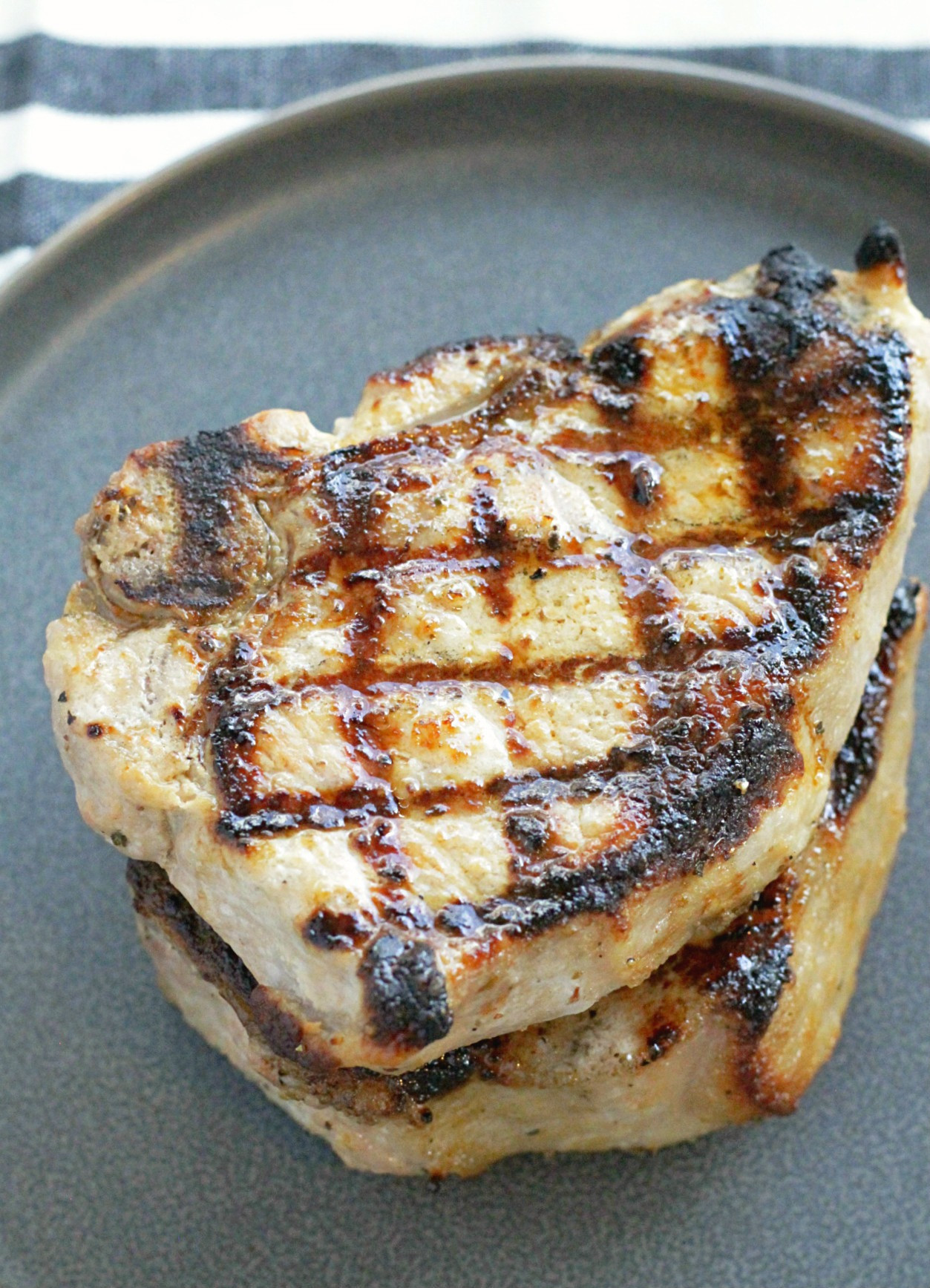 Grill Pork Chops Time  Perfectly Grilled Pork Chops Foodtastic Mom