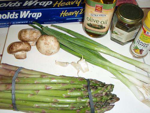 Grilled Asparagus Foil  Aluminum Foil Asparagus The Grill Aluminum Foil