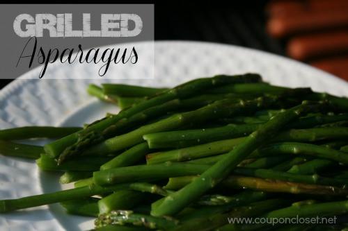 Grilled Asparagus Foil  Grilled Asparagus Recipe use a foil pack Coupon Closet