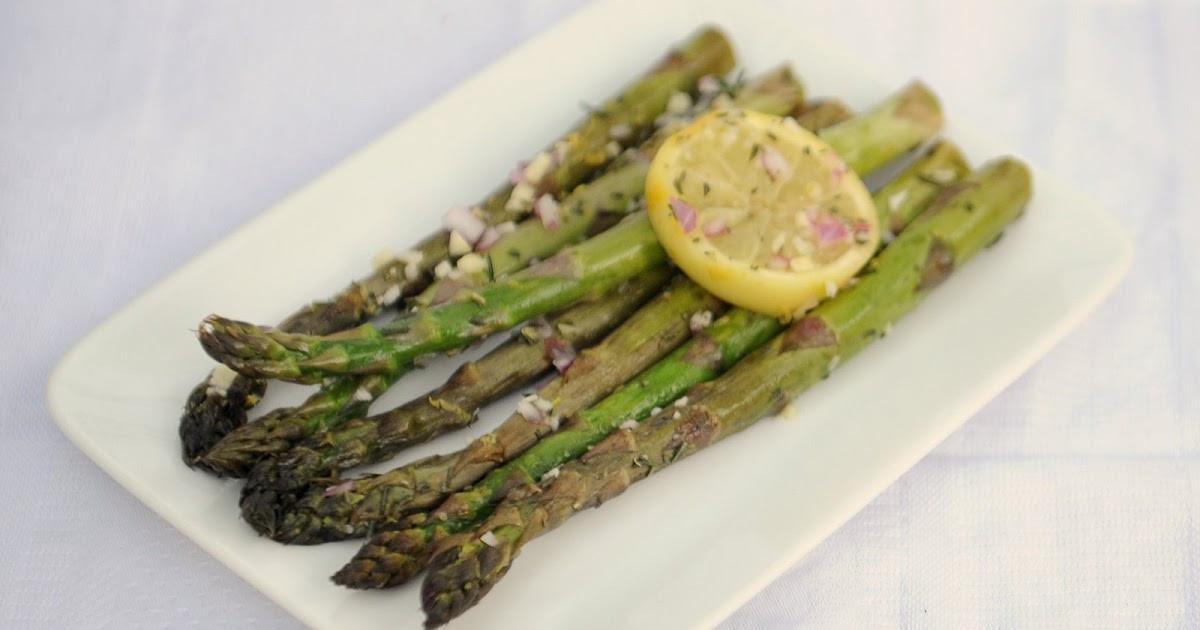 Grilled Asparagus Foil  Gourmet Girl Recipe Marinated Grilled Asparagus