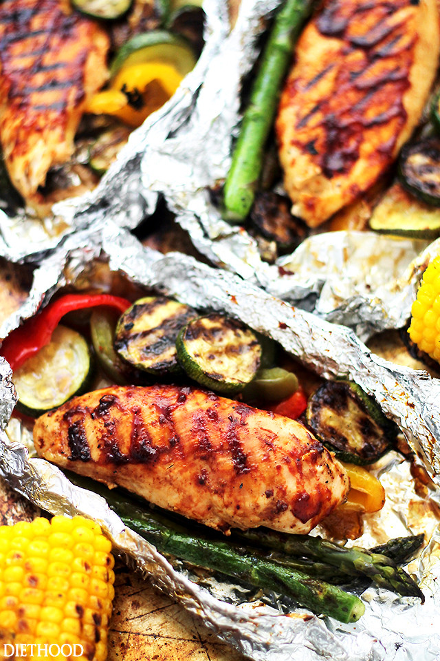 Grilled Asparagus Foil  Want Easy Camping Meals Try These 5 Foil Packet Recipes