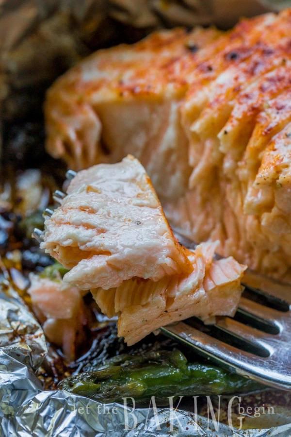 Grilled Asparagus Foil  Salmon Asparagus Foil Packets Let the Baking Begin