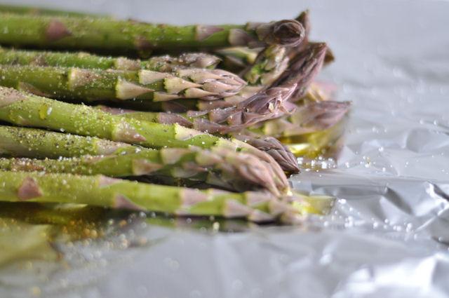 Grilled Asparagus Foil  Spring Fling Grilled Asparagus – this heart of mine