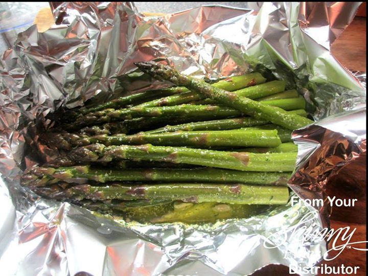Grilled Asparagus Foil  This is delicious Asparagus Foil Packet for the Grill 1