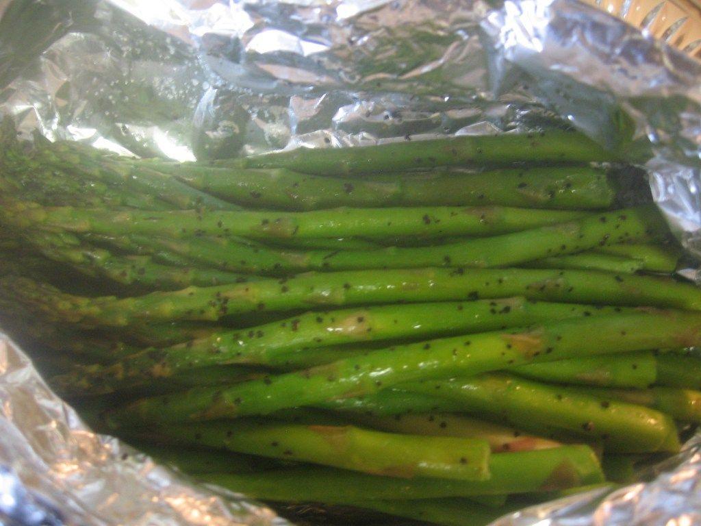 Grilled Asparagus Foil  Asparagus Packets