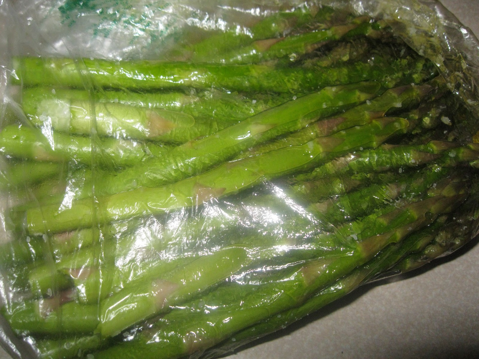 Grilled Asparagus Foil  Feeding your family well Grilled Marinated Pork