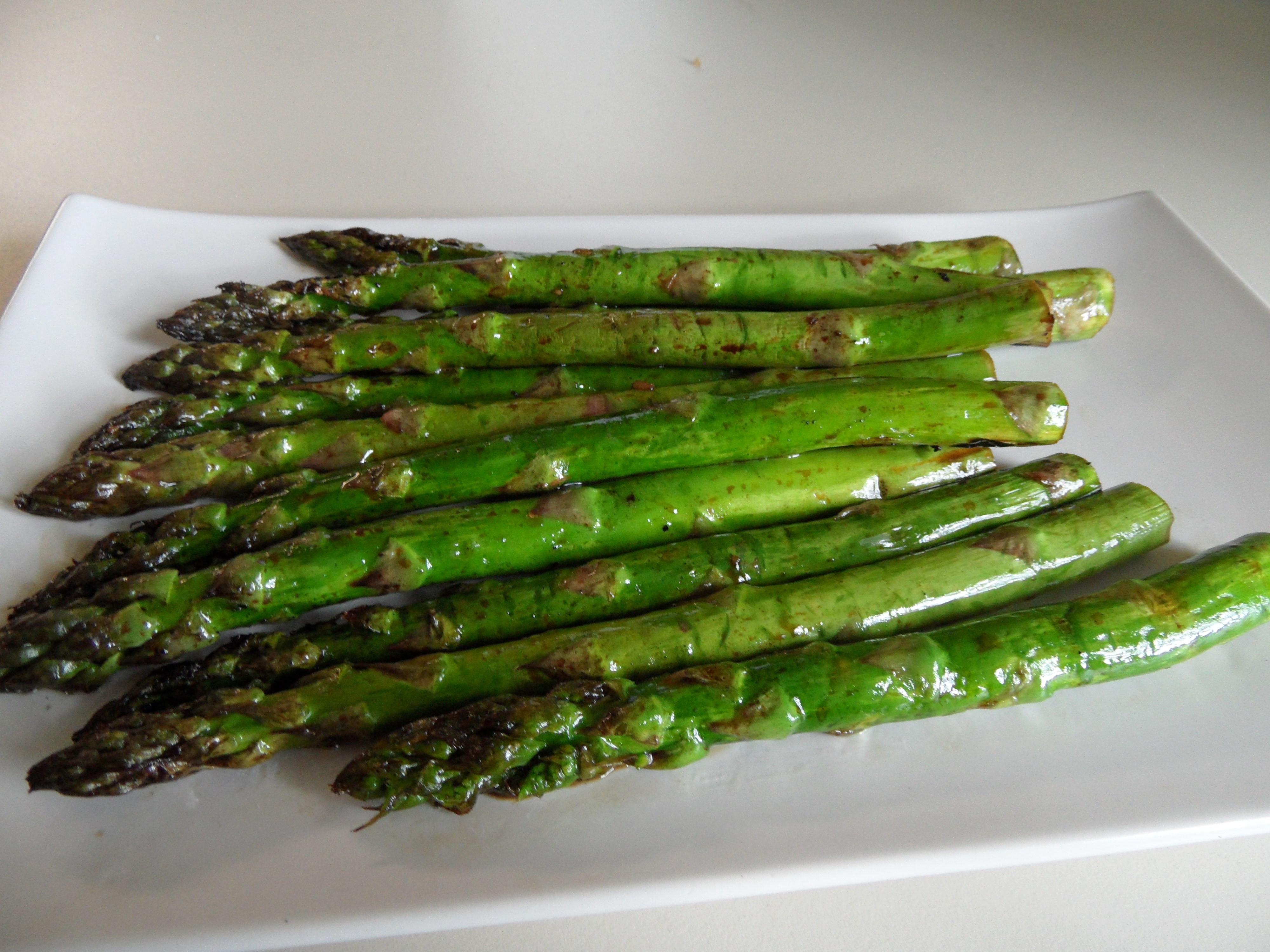Grilled Asparagus Foil  Grilled Asparagus