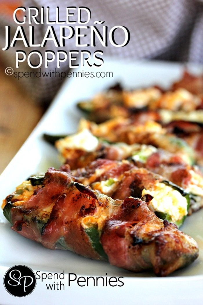 Grilled Bacon Wrapped Jalapeno Poppers  45 Extraordinary Bacon Recipes