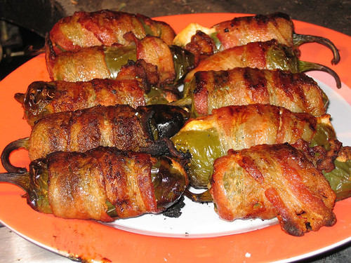 Grilled Bacon Wrapped Jalapeno Poppers  Armida Cooks Bacon Wrapped Jalapeño Poppers