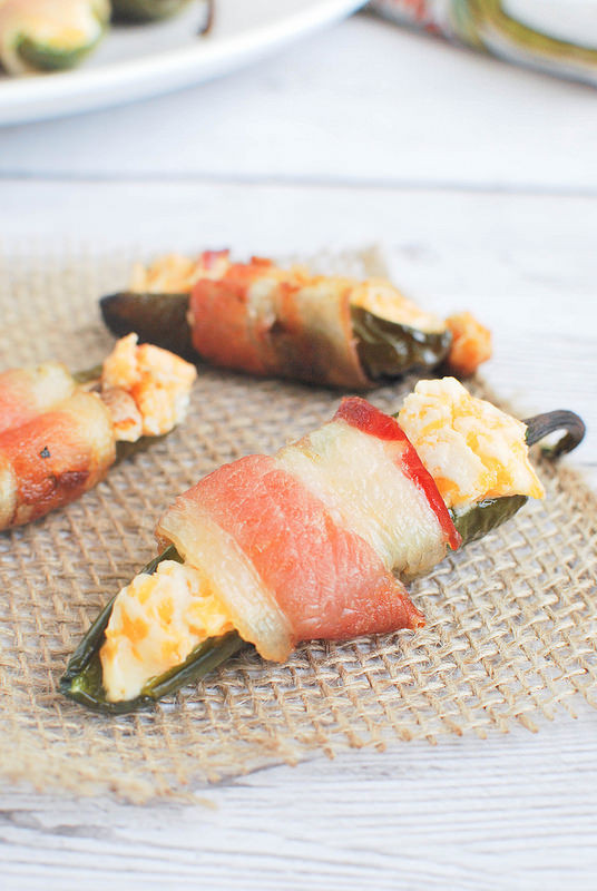 Grilled Bacon Wrapped Jalapeno Poppers  Grilled Bacon Wrapped Jalapeno Poppers Fake Ginger