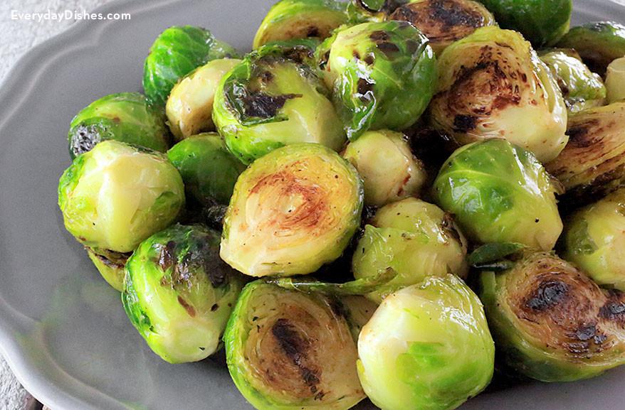 Grilled Brussels Sprouts  Grilled Brussels Sprouts Recipe
