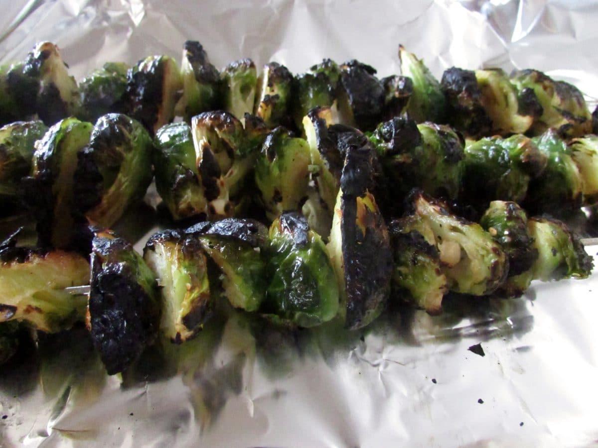 Grilled Brussels Sprouts  Grilled Brussels Sprouts Recipe & 10 Easy Healthy Grilling