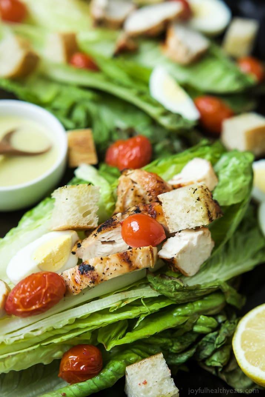 Grilled Chicken Salad Calories  Grilled Chicken Caesar Salad