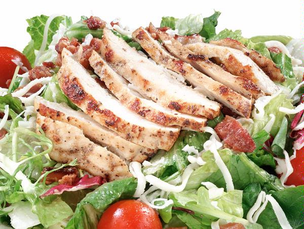 Grilled Chicken Salad Calories  HOT GRILLED CHICKEN Ledo Pizza