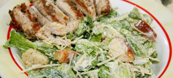 Grilled Chicken Salad Calories  Low Calorie Grilled Chicken Caesar Salad LindySez