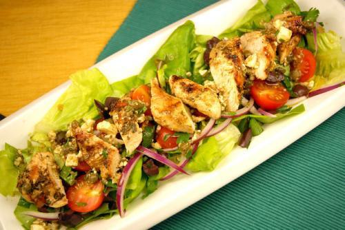 Grilled Chicken Salad Recipes  Greek Grilled Chicken Salad Recipe