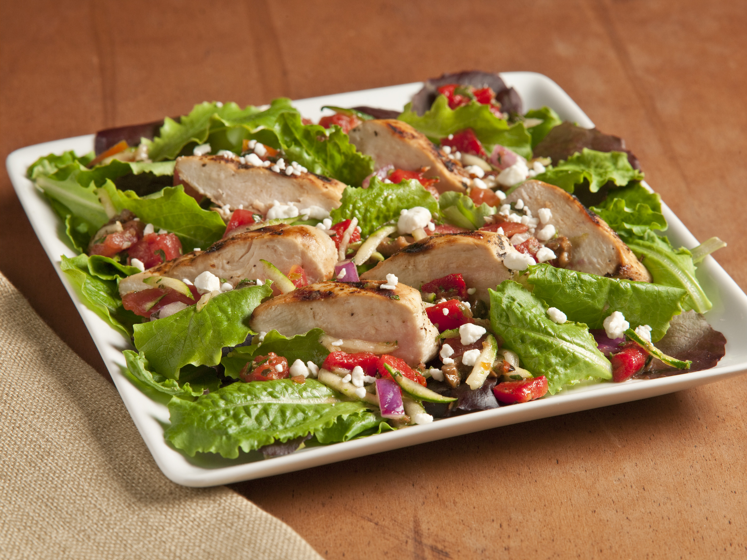 Grilled Chicken Salad Recipes  Grilled Chicken Provencal Salad