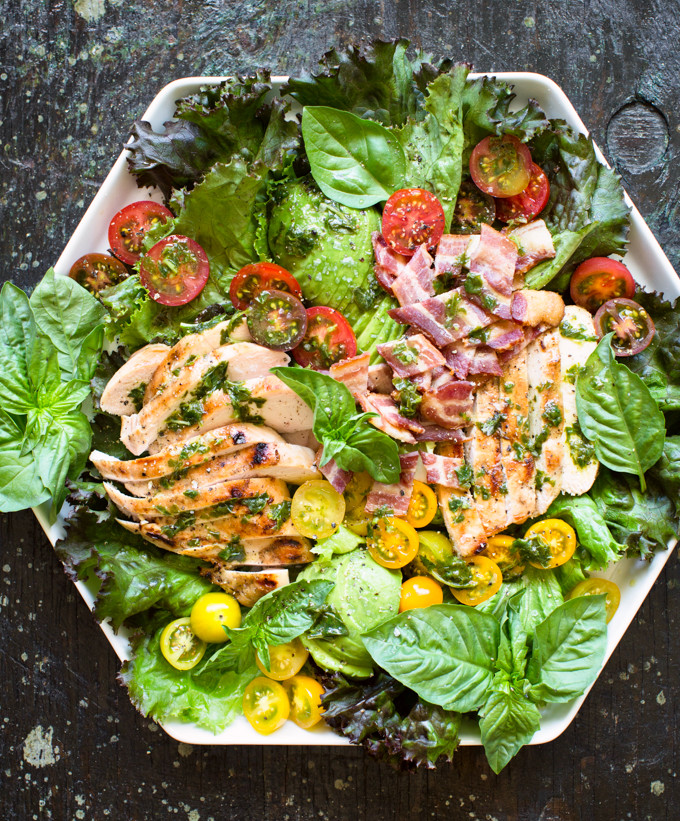 Grilled Chicken Salad Recipes  grilled chicken salad recipes