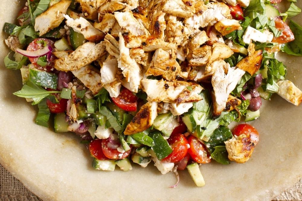 Grilled Chicken Salad Recipes  Healthy Food Hello Fresh Greek God s Grilled Chicken