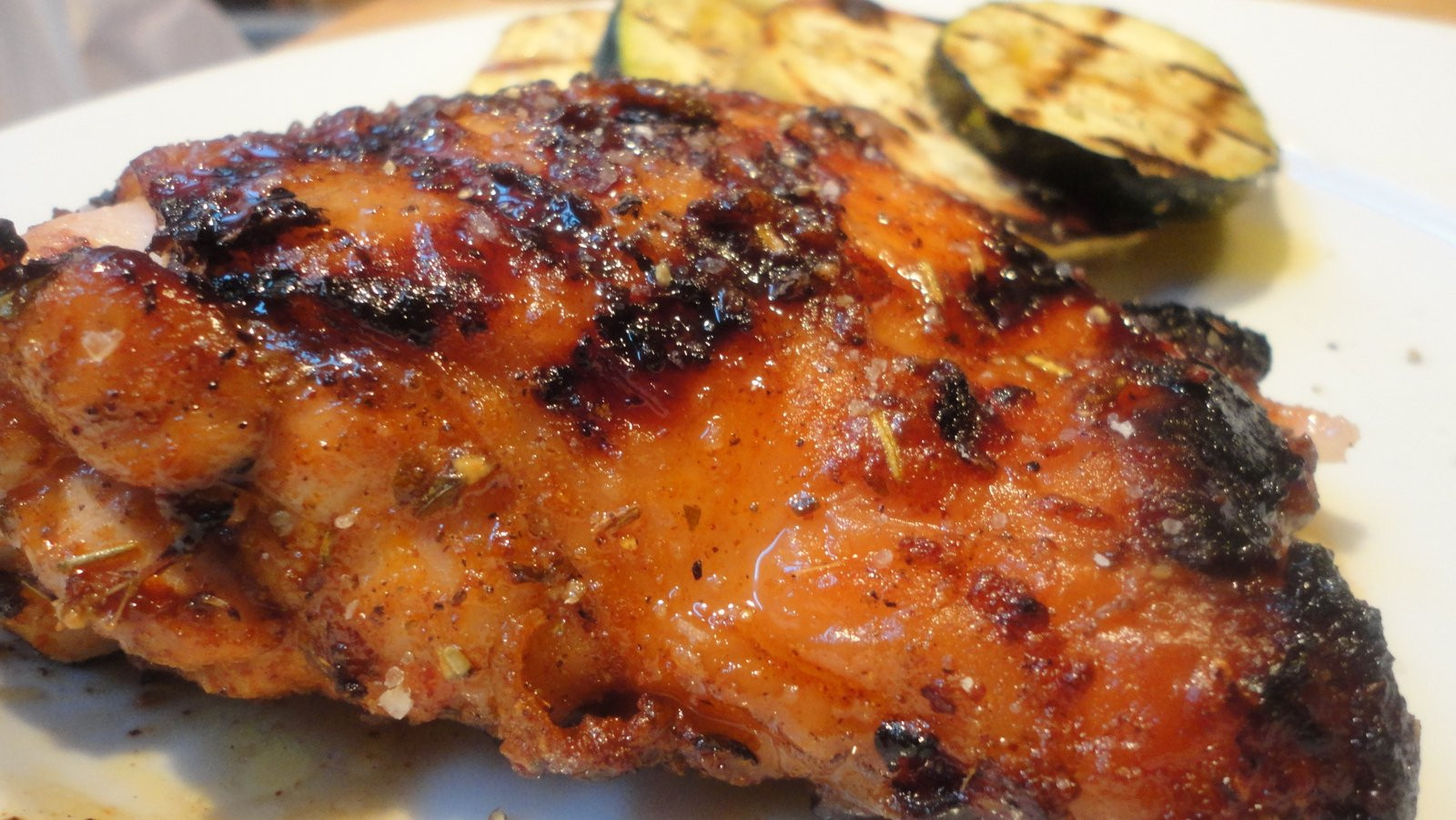 Grilled Chicken Thighs  Paleo Maple Grilled Chicken Thighs