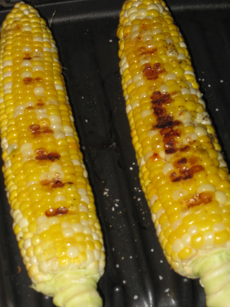 Grilled Corn Recipe  grilled corn in husk with silk
