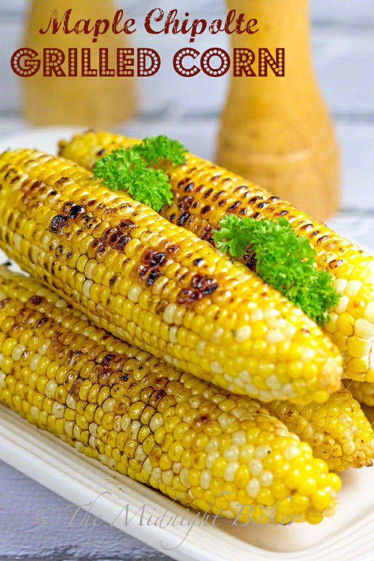 Grilled Corn Recipe  17 Best images about Bronco Bob s Favorite Recipes on