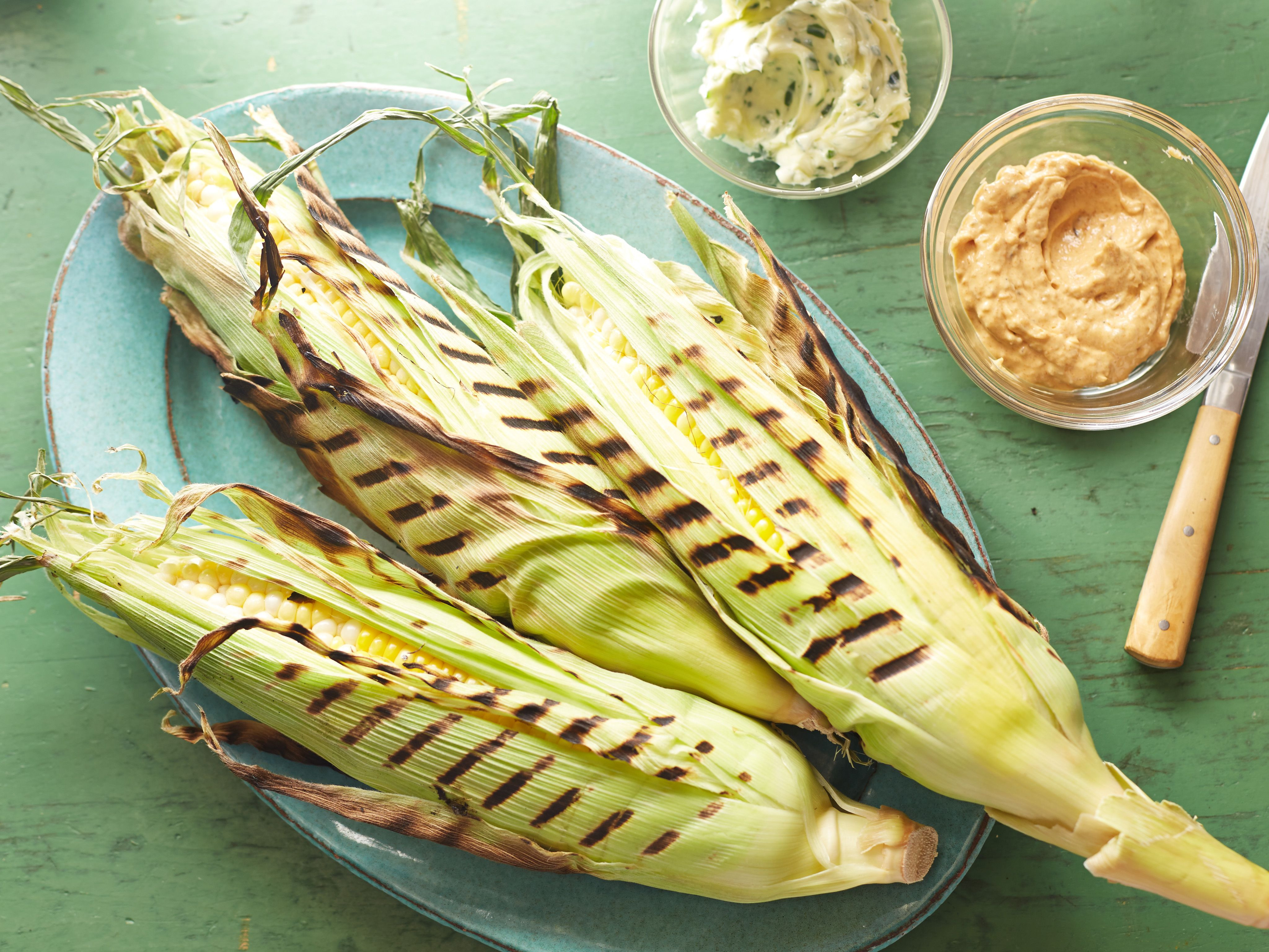 Grilled Corn Recipe  Perfectly Grilled Corn on the Cob Recipe