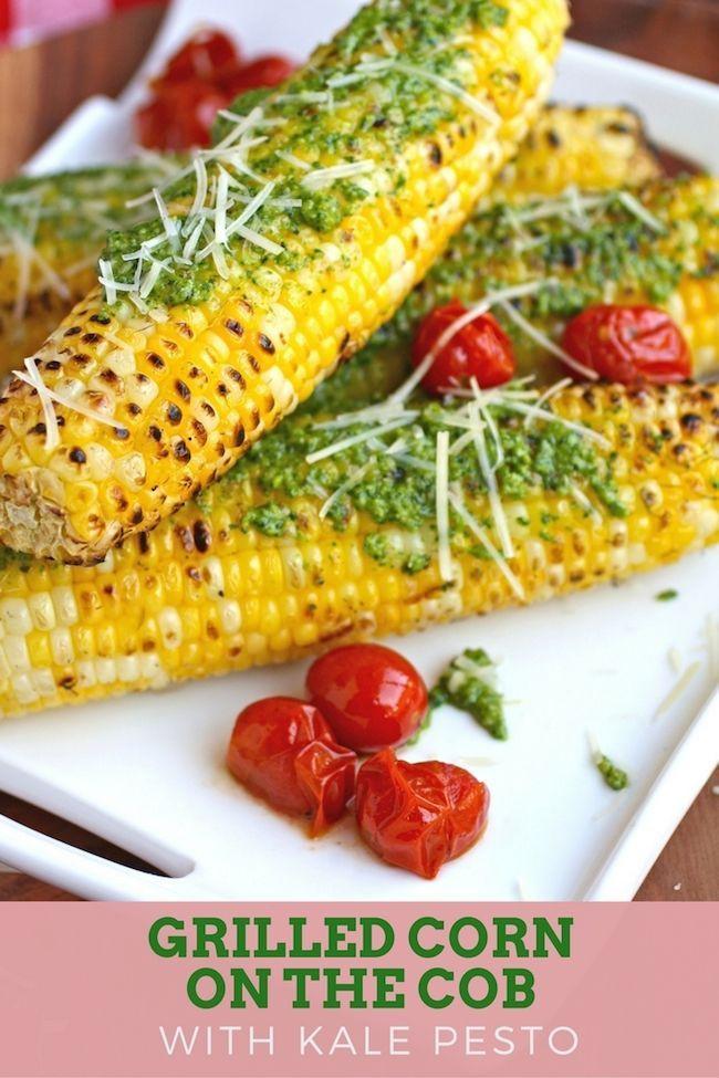 Grilled Corn Recipe  Italian Style Grilled Corn Recipe — Dishmaps