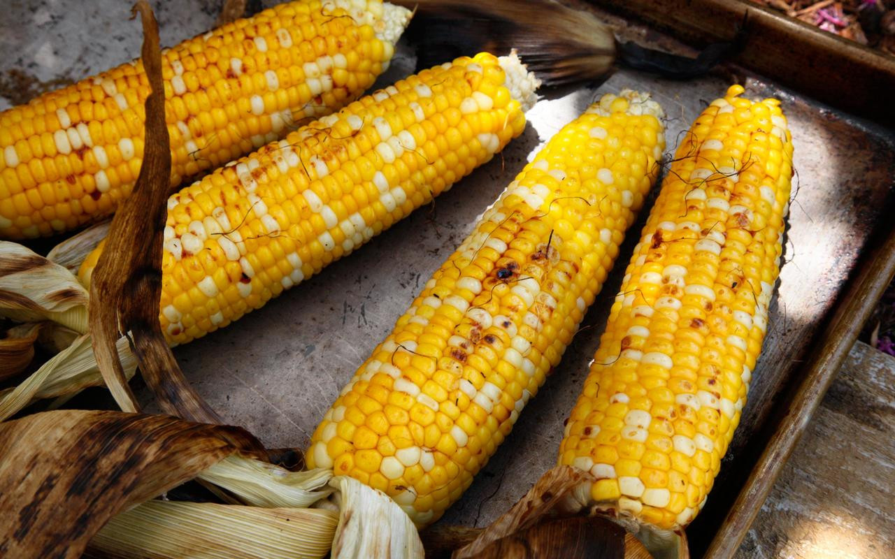Grilled Corn Recipe  Grilled Corn with Soy Sauce and Mirin Best Recipes for a