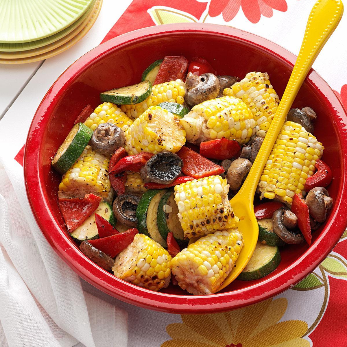 Grilled Corn Recipe  Grilled Corn Medley Recipe