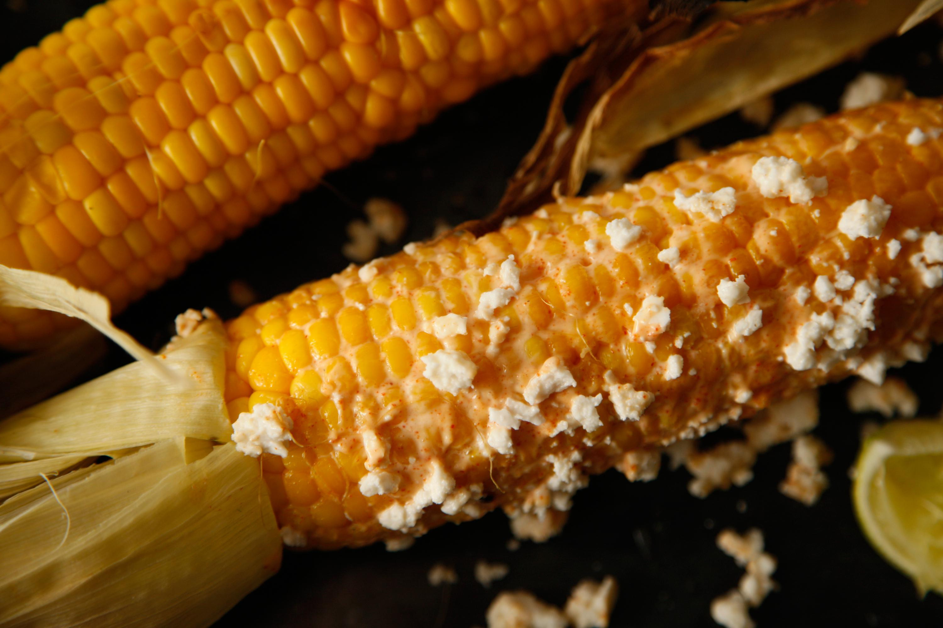 Grilled Corn Recipe  Recipes for BBQ Side Dishes Grilled Corn with Cayenne