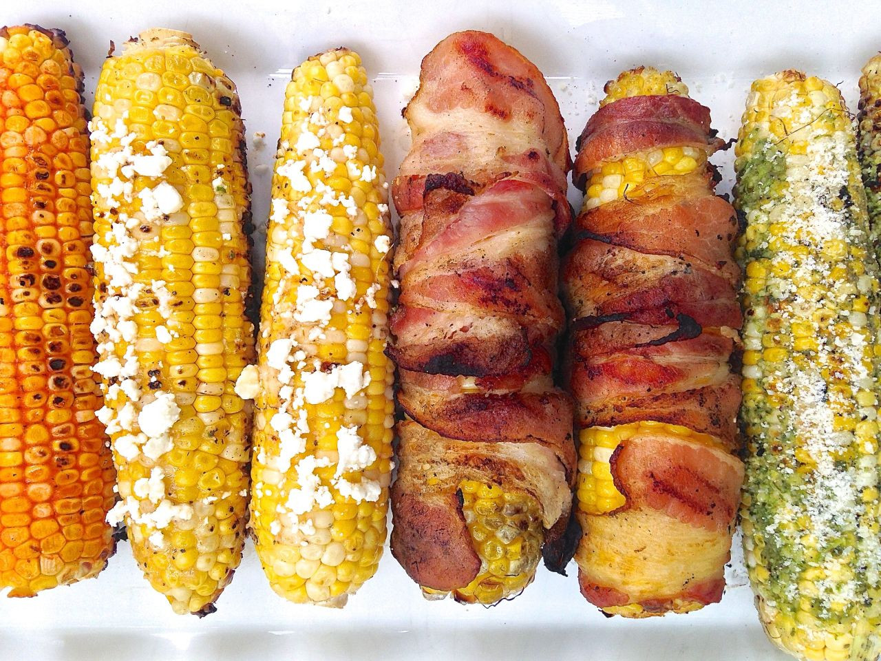 Grilled Corn Recipe  5 alternative toppings for grilled sweetcorn Good