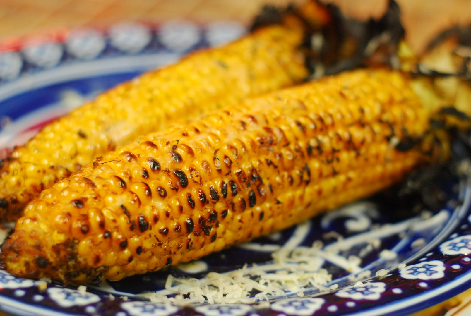 Grilled Corn Recipe  Grilled Corn with Coconut Lime Butter and Pepper Jack