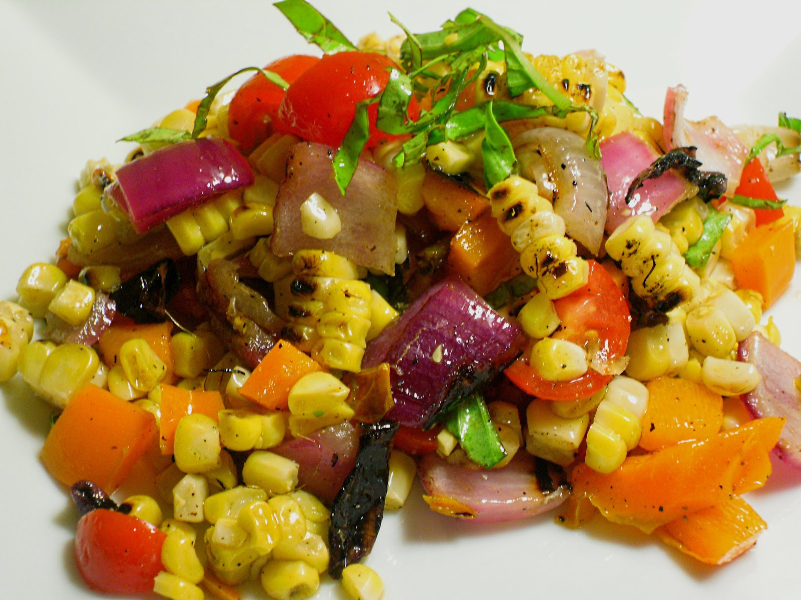 Grilled Corn Salad  fy Cuisine Home Recipes from Family & Friends Fresh
