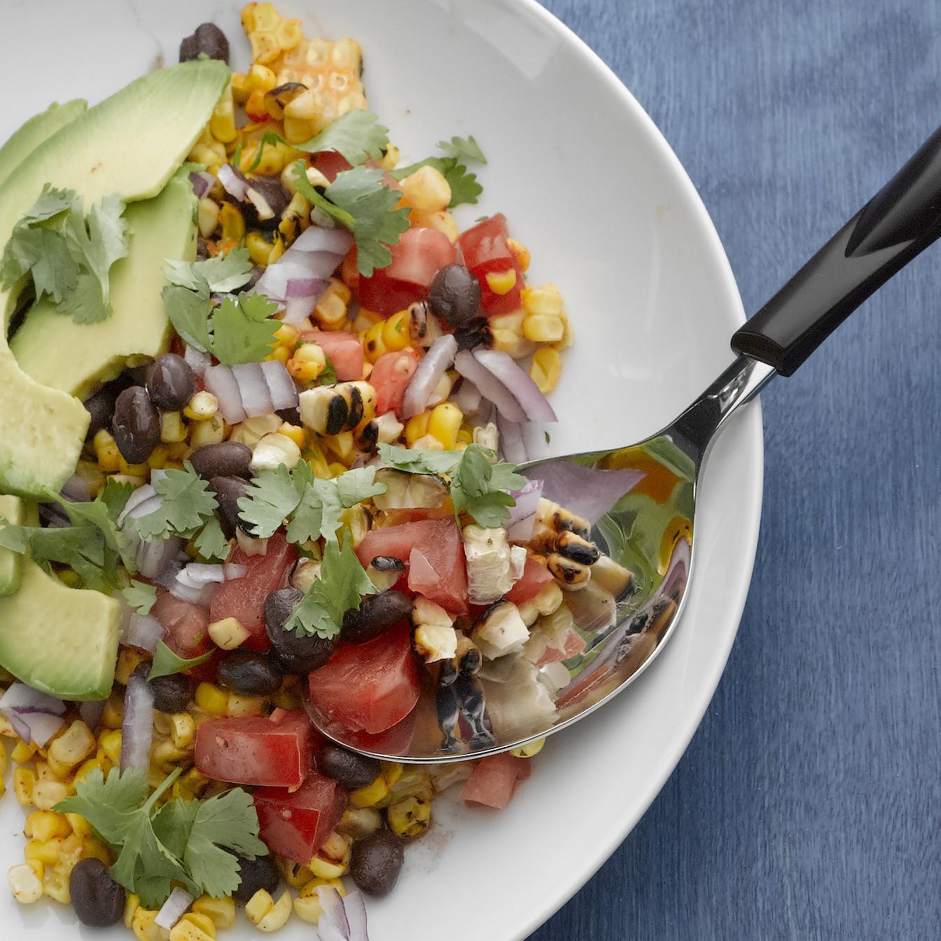 Grilled Corn Salad  Grilled Corn Salad