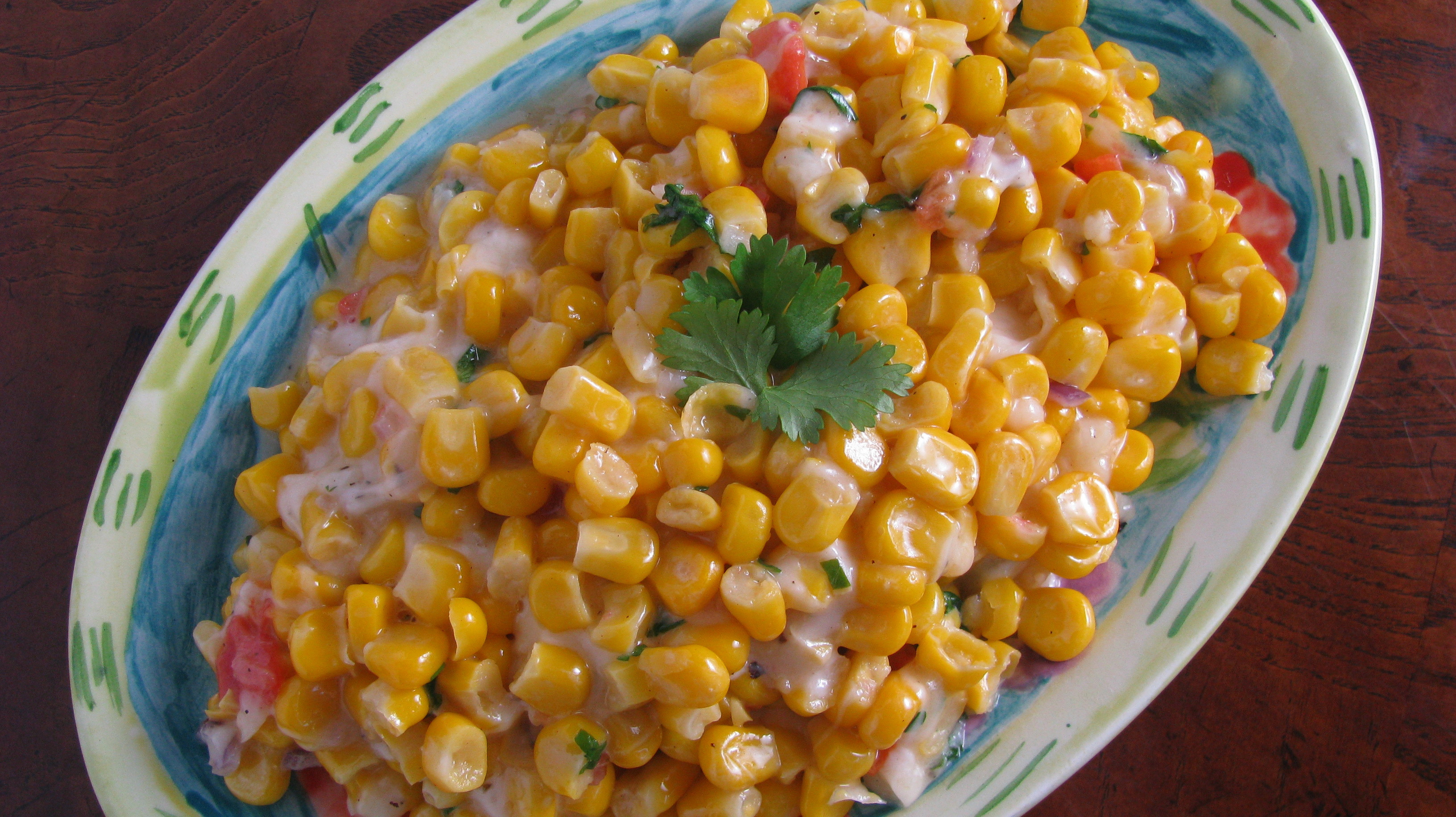 Grilled Corn Salad  Grilled Corn Salad with Lime and Cilantro How Sweet Eats