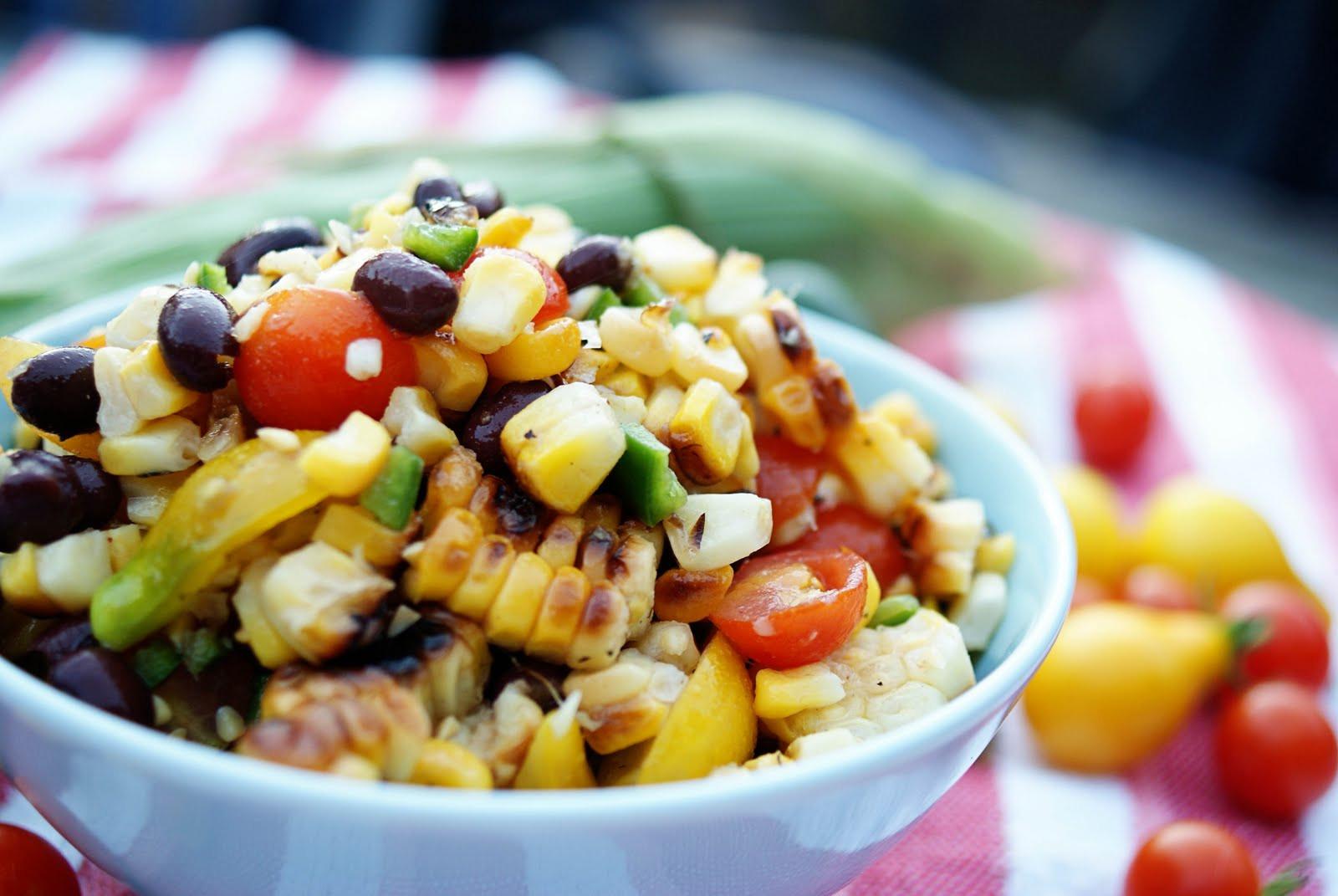 Grilled Corn Salad  Piccante Dolce Grilled Corn Salad