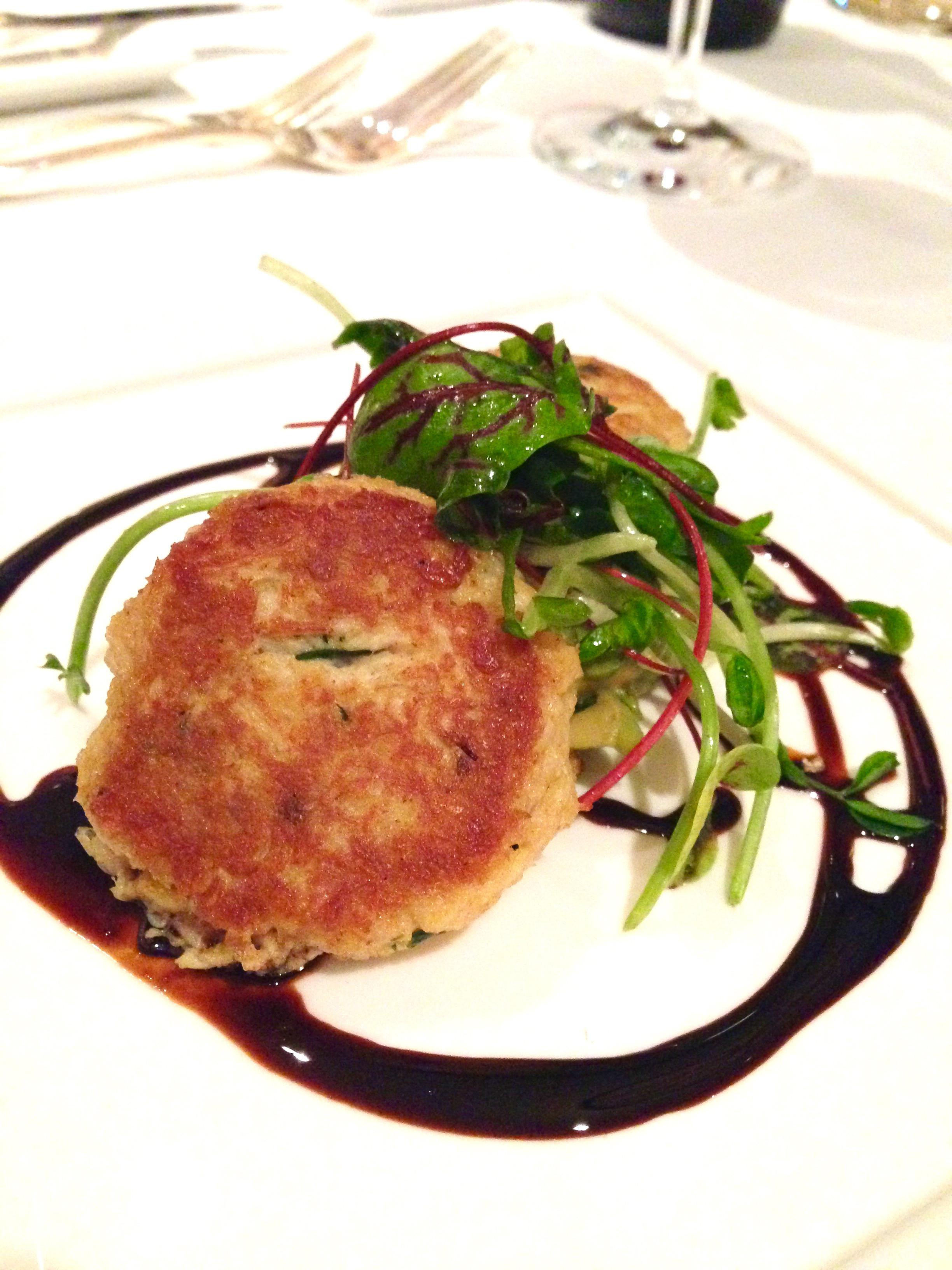 Grilled Crab Cakes  Annona Restaurant