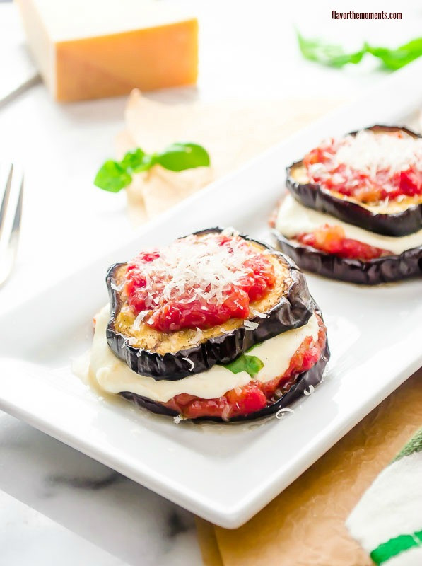 Grilled Eggplant Parmesan  Healthy Weekly Meal Plan 6 4 2016 Flavor the Moments