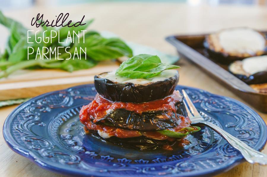 Grilled Eggplant Parmesan  So…Let s Hang Out – Grilled Eggplant Parmesan
