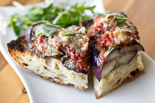Grilled Eggplant Parmesan  Old Fashioned Favorites Go Mini