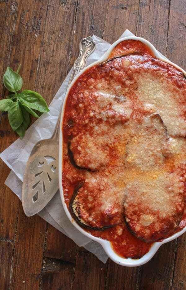 Grilled Eggplant Parmesan  Grilled Eggplant Parmesan