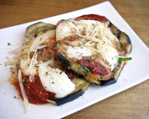 Grilled Eggplant Parmesan  Summer eats Grilled eggplant Parmesan – Something Silly